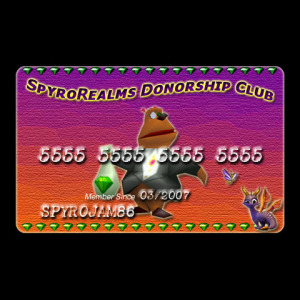 SpyroRealms Donorship Club